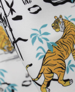 Креп-кади плательный Тигр
