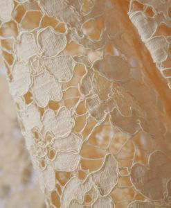 Французское кружево Valentino цвет Poudre пудровое