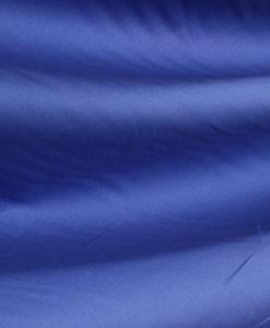 Поплин натуральный однотонный цвет голубой