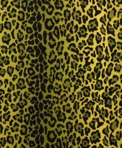 Креп-кади Леопард цвет зеленый