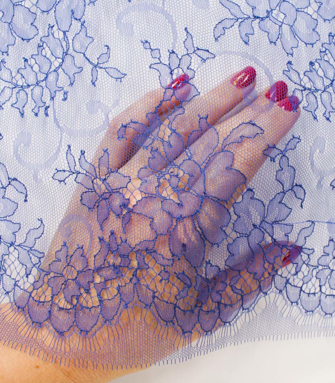 Французское кружево Serena Saphir синий