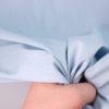 Джинса рубашечная светло-голубого цвета