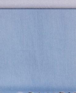 Джинса однотонная голубого цвета