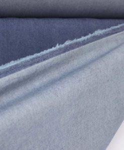 Джинса однотонная темного-синего цвета