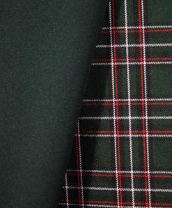 Ткань костюмная однотонная цвет зелёный