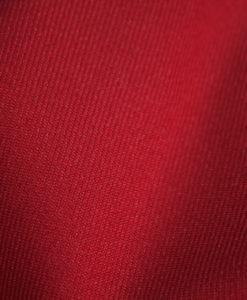 Ткань костюмная однотонная цвет красный