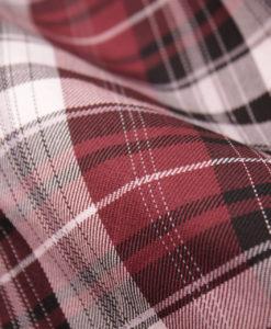 """Ткань костюмная школьная """"Лицей"""". Цвет бордовый.         Арт. Cr-012"""