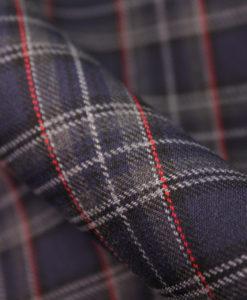 """Ткань костюмная школьная """"Лицей"""". Цвет фиолетовый. Арт. Cr-014"""