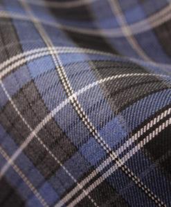 """Ткань костюмная школьная """"Лицей"""". Цвет серо-голубой. Арт. Cr-016"""