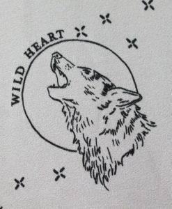 Штапель-креп Дикое сердце