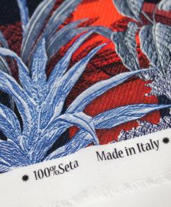 Крепдешин-шёлк купон от Dior Знойные сумерки