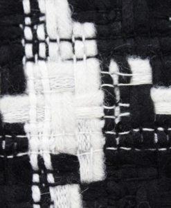 """Ткань костюмная Chanel (Шанель) цвет черно-белый """"Гусиная лапка"""""""