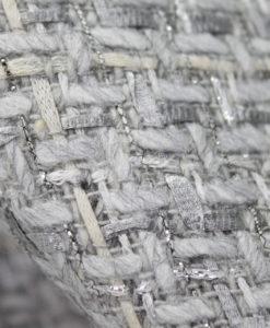 Ткань костюмная Chanel (Шанель) цвет серый