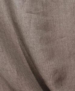 Лён костюмный цвет чёрный