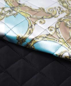 """Курточная стеганая ткань с утеплителем """"Лоскутное одеяло"""""""