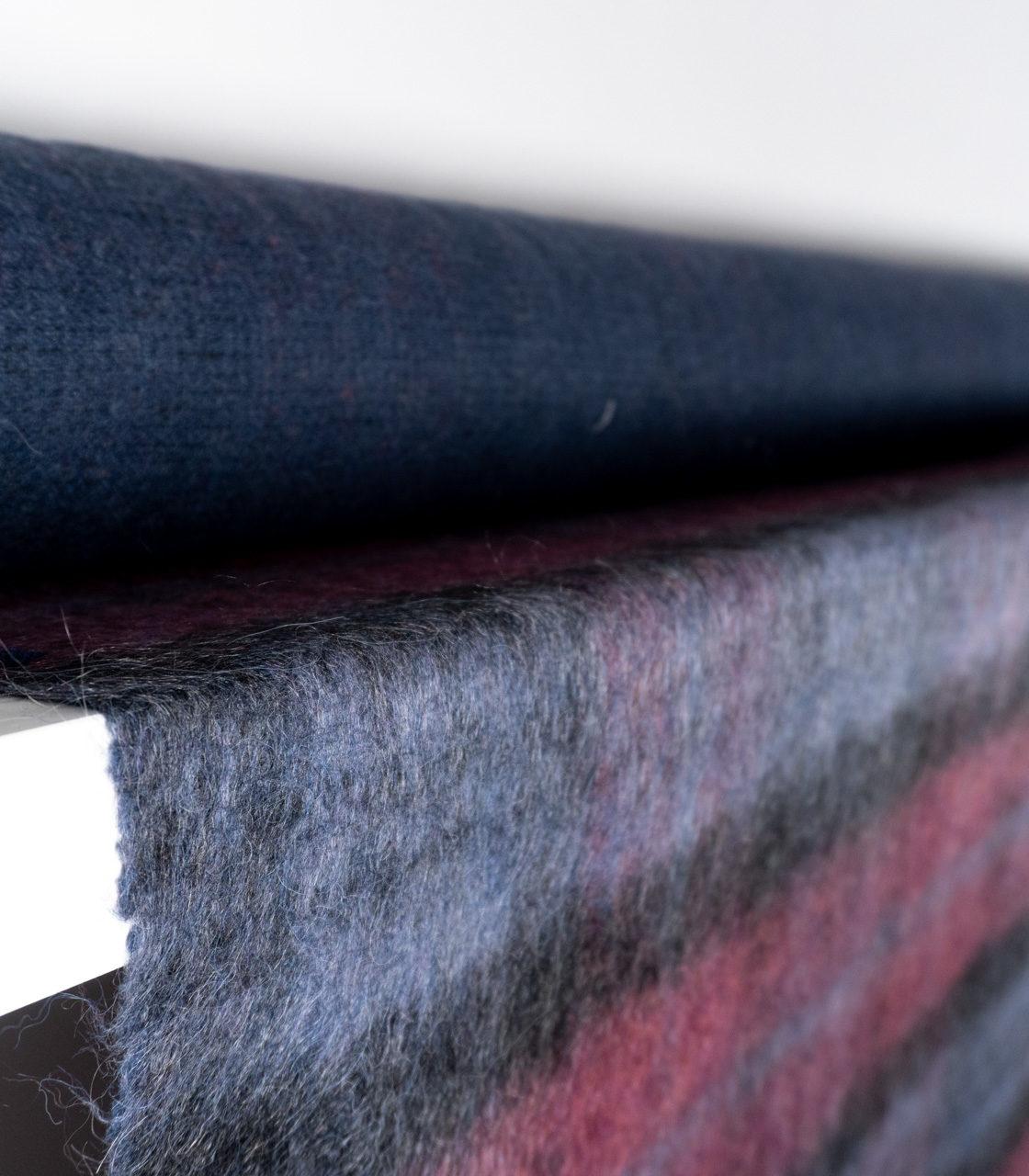 Пальтовая ткань с мохером