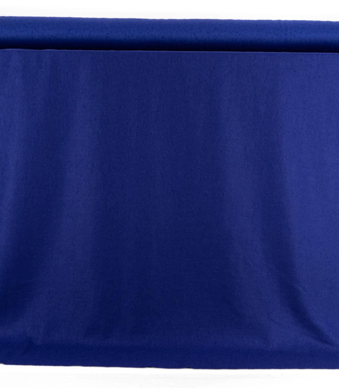 Пальтовая ткань «букле» синий