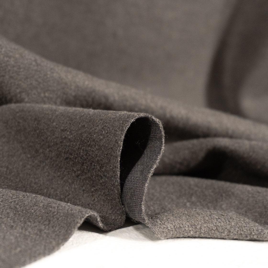 Пальтовая ткань «букле»  светло-серый