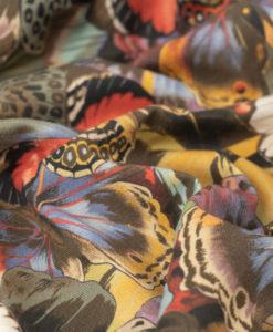Шелк с принтом от D&G Бабочки