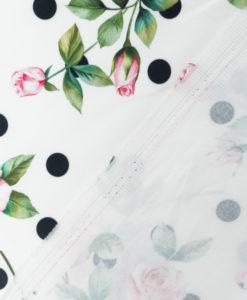 Коттон с цветочным принтом от D&G