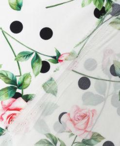 Шёлк с цветочным принтом от D&G